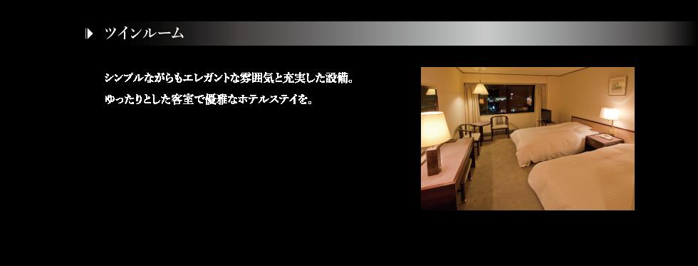 客室-ツイン