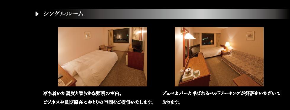 客室-シングル