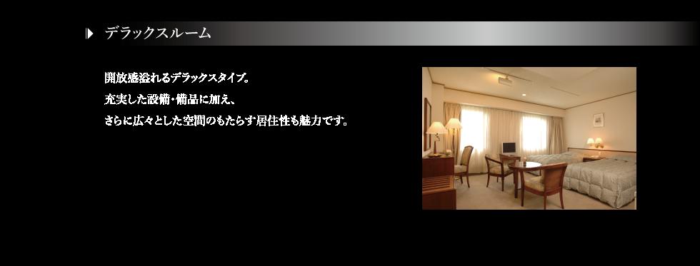 客室-デラックスツイン